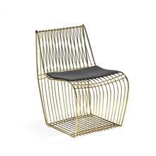 Margot Dining Chair - Brass