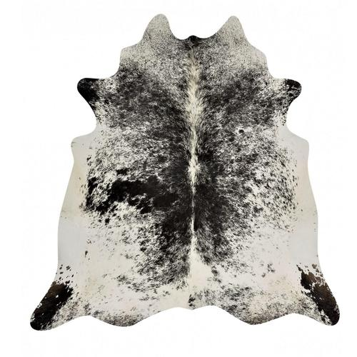 Speckle Black & White Cowhide