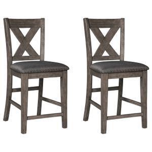 Ashley FurnitureSIGNATURE DESIGN BY ASHLECaitbrook Counter Height Upholstered Bar Stool