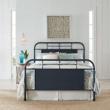 View Product - Queen Metal Bed- Navy