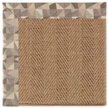 "Islamorada-Herringbone Geo Bronze - Rectangle - 24"" x 36"""