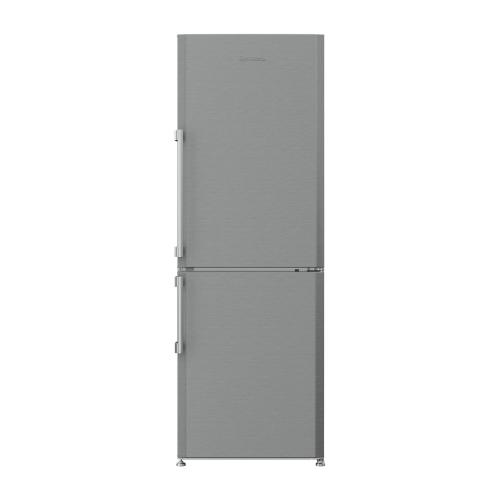 """24"""" 10.3 cuft bottom freezer fridge with full frost free, stainless steel"""