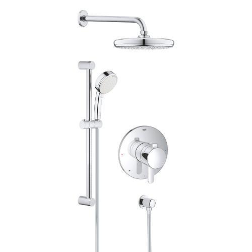 Product Image - Europlus Pressure Balance Valve Shower Set