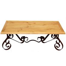 See Details - Bent Iron Cocktail Table