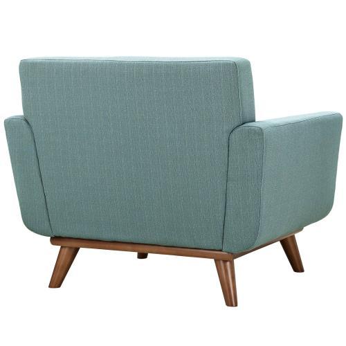 Engage Armchair Wood Set of 2 in Laguna
