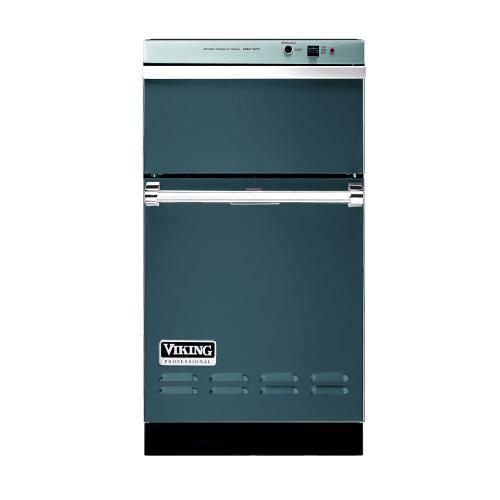 "Viking - Iridescent Blue 18"" Wide Trash Compactor - VUC"