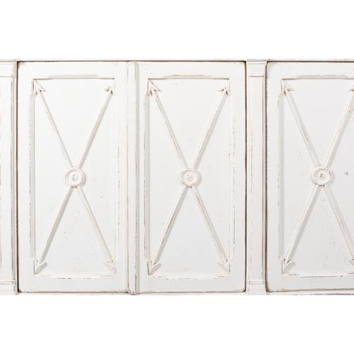 Marksman Sideboard, Antique Whitewash