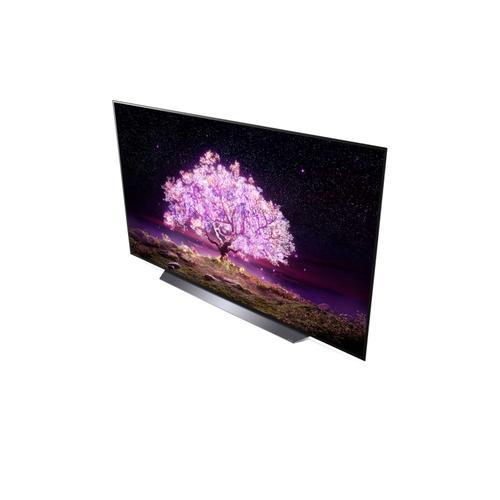 LG C1 83 inch Class 4K Smart OLED TV w/AI ThinQ® (83.5'' Diag)