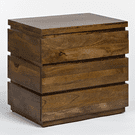 Silo 3 Drawer Night Stand Product Image