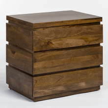 Silo Three Drawer Nightstand