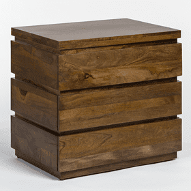Silo 3 Drawer Night Stand