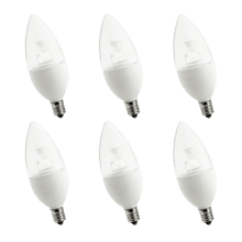 purePower C37 LED Bulb - 6 pack