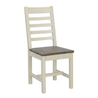 See Details - Caleb Dining Chair Lark Brown/Classic Ivory