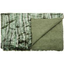 "Fur N9551 Green 50"" X 70"" Throw Blanket"