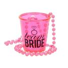 """Team Bride"" 2 oz. Shot Glass Necklace Product Image"