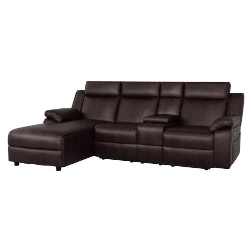2-Piece Reclining Sectional with Left Chaise