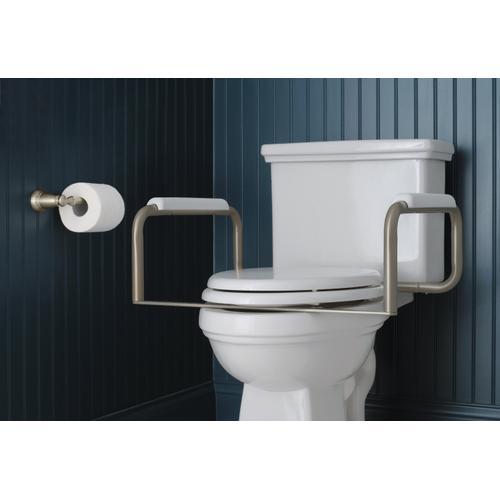 Toilet Safety Bar Satin Nickel