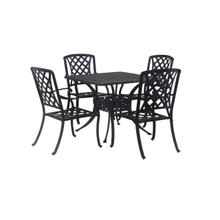 """See Details - San Marino Dining Set (Size: 4 chairs with 42"""" round table)"""