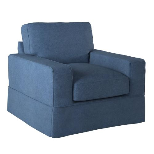 Americana Slipcovered Chair - Color: 410046