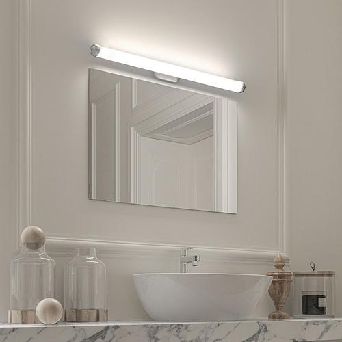 "Sonneman - A Way of Light - Plaza LED Bath Bar [Size=32"", Color/Finish=Satin Chrome]"