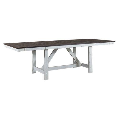 Optional 7 Piece Trestle Table Set