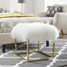 Anticipate Ottoman in Gold White