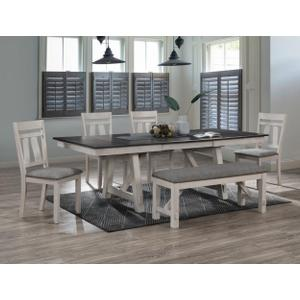 Maribelle Dining Top Chalk Greybrow