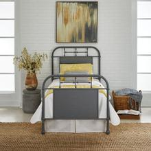 Full Metal Bed - Grey