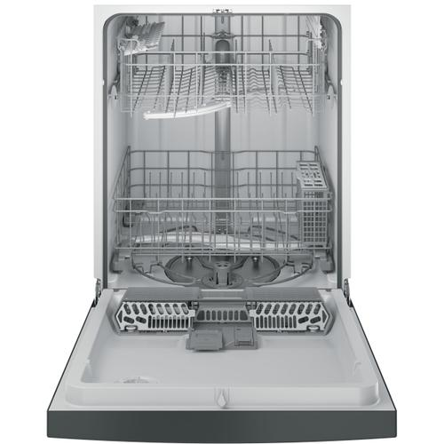 GE® Dishwasher with Front Controls (This is a Stock Photo, actual unit (s) appearance may contain cosmetic blemishes. Please call store if you would like actual pictures). REBATE NOT VALID with this item.  ISI 36563 W