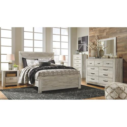 Bellaby Five Drawer Chest Whitewash