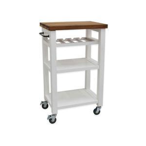 Steve Silver Co.Belden Kitchen Cart, White