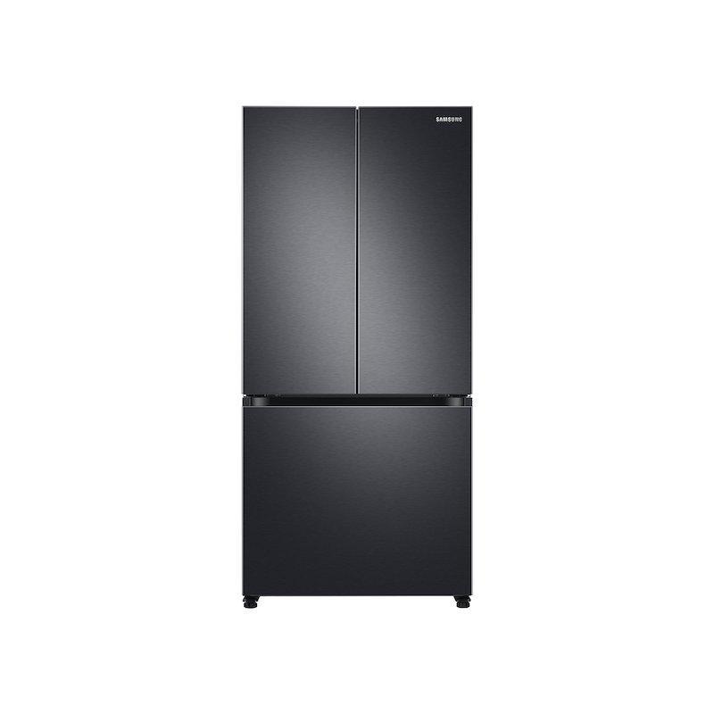 19.5 cu. ft. Smart 3-Door French Door Refrigerator in Black