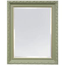 PAINTED FRAMED MIRROR  49ht X 39w  Made in USA