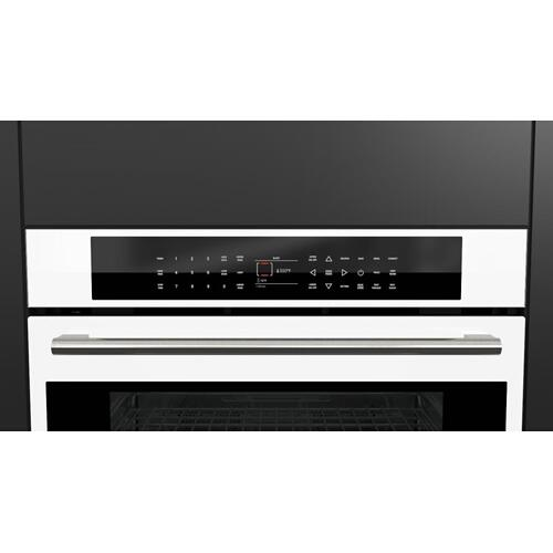 "30"" Touch Control Double Oven - White Glass"