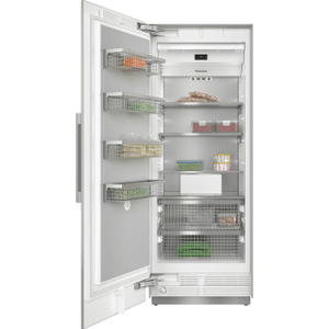MieleF 2811 SF - MasterCool™ freezer For high-end design and technology on a large scale.