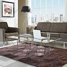 Prism Rectangle Coffee Table in Clear Product Image