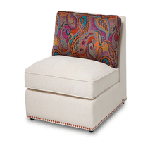 Sacramento Armless Chair OrangeNails