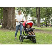 View Product - Jeep® Classic Jogging Stroller - Classic Red (2018)