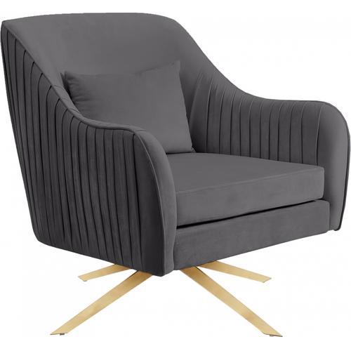 "Paloma Velvet Swivel Accent Chair - 31.5"" W x 32"" D x 33.5"" H"