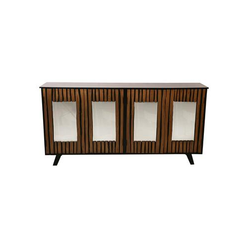 Savannah 4 Door Mango Sideboard