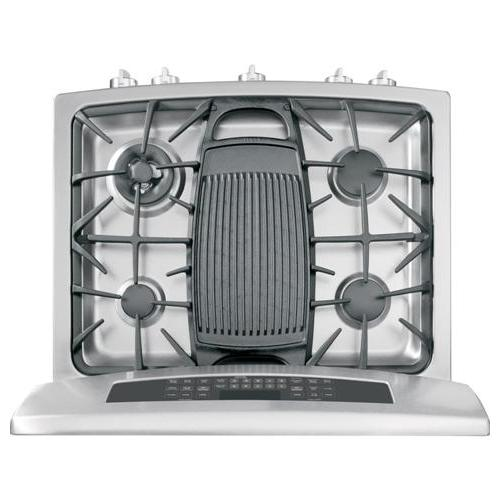 """Gallery - GE Profile™ Series 30"""" Free-Standing Gas Double Oven with Convection Range"""