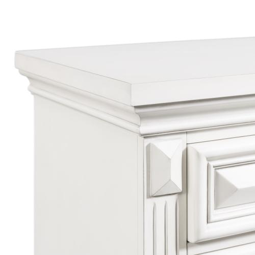 Calloway Media Chest in White