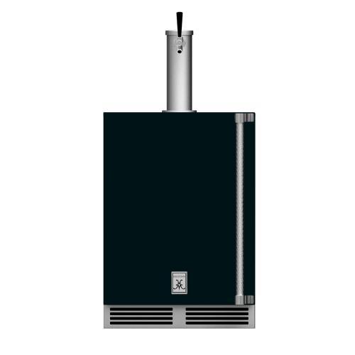 "24"" Hestan Outdoor Single Faucet Beer Dispenser - GFDS Series - Stealth"