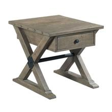 View Product - TRESTLE DRAWER END TABLE