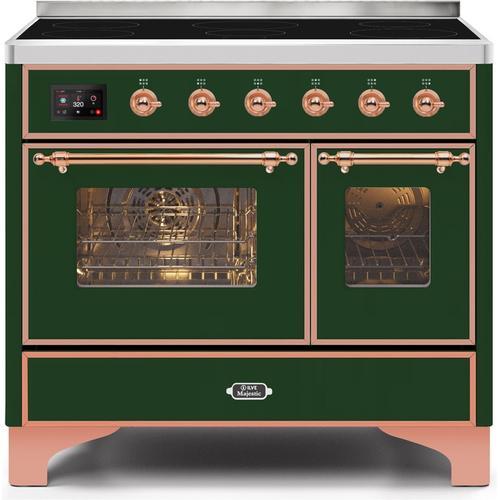 "40"" Inch Emerald Green Freestanding Range"