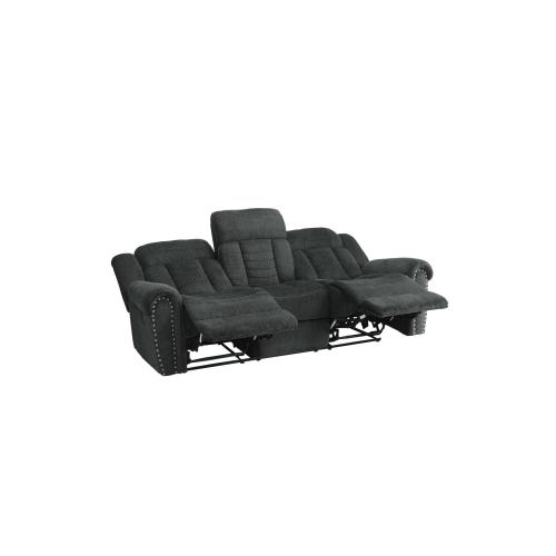 Nutmeg Motion Sofa and Love Seat
