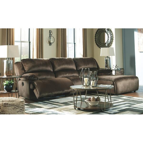 See Details - Clonmel 3-piece Power Reclining Sectional With Chaise