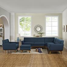 See Details - Engage 5 Piece Sectional Sofa in Azure