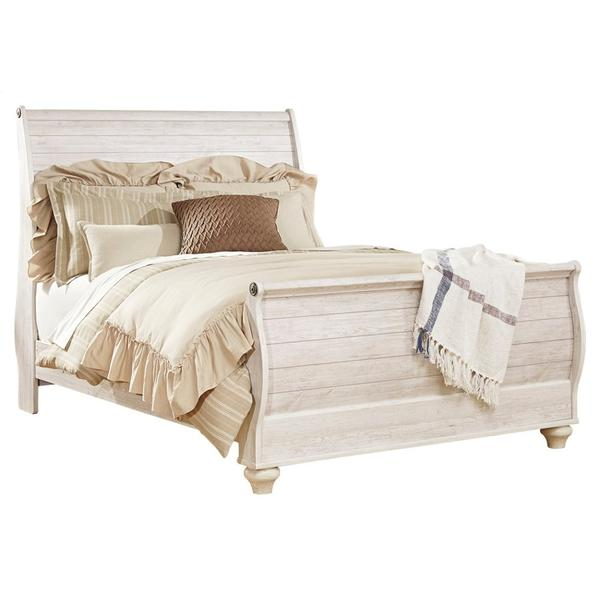 See Details - Willowton Queen Sleigh Bed