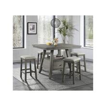5049 5 Piece Counter Height Dining Set